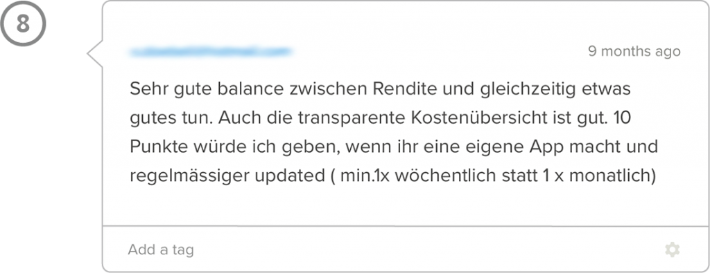 Inyova Erfahrungen Schweiz tägliche Berichte