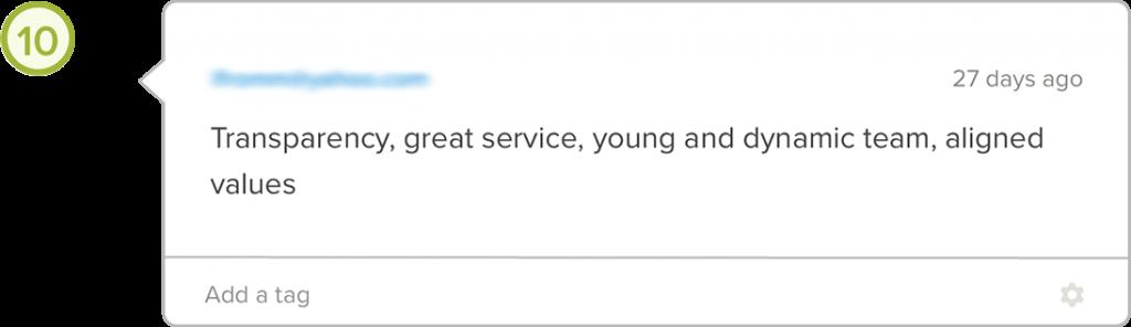 Yova review transparent fees