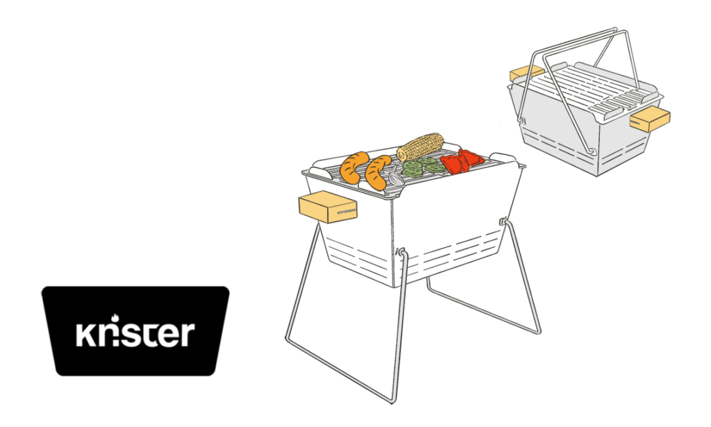 knister grill nachhaltige startups
