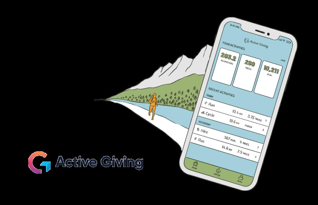 active giving grüne startups